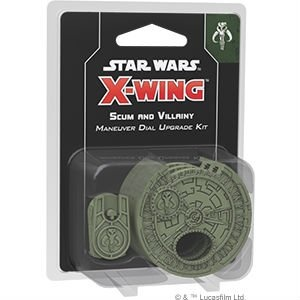 Star Wars X-Wing: 2nd Edition - Scum and Villainy Dial Upgrade Kit