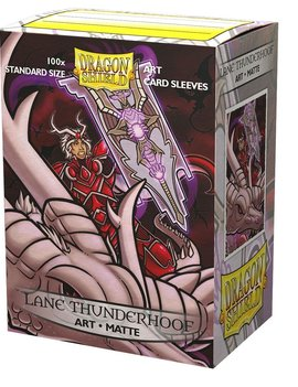Dragon Shield Dragon Shield Art 100Ct: Lane Thunderhoof Matte CoA