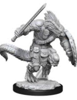 WizKids Lizardfolk Barbarian & Lizardfolk Cleric Nolzur's Marvelous Miniatures - D&D Wave 15