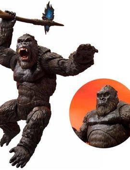 Square Enix King Kong SH MonsterArts Action Figure - Godzilla vs Kong