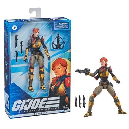Hasbro Scarlett (Variant) 6-Inch Action Figure - G.I. Joe Classified Series