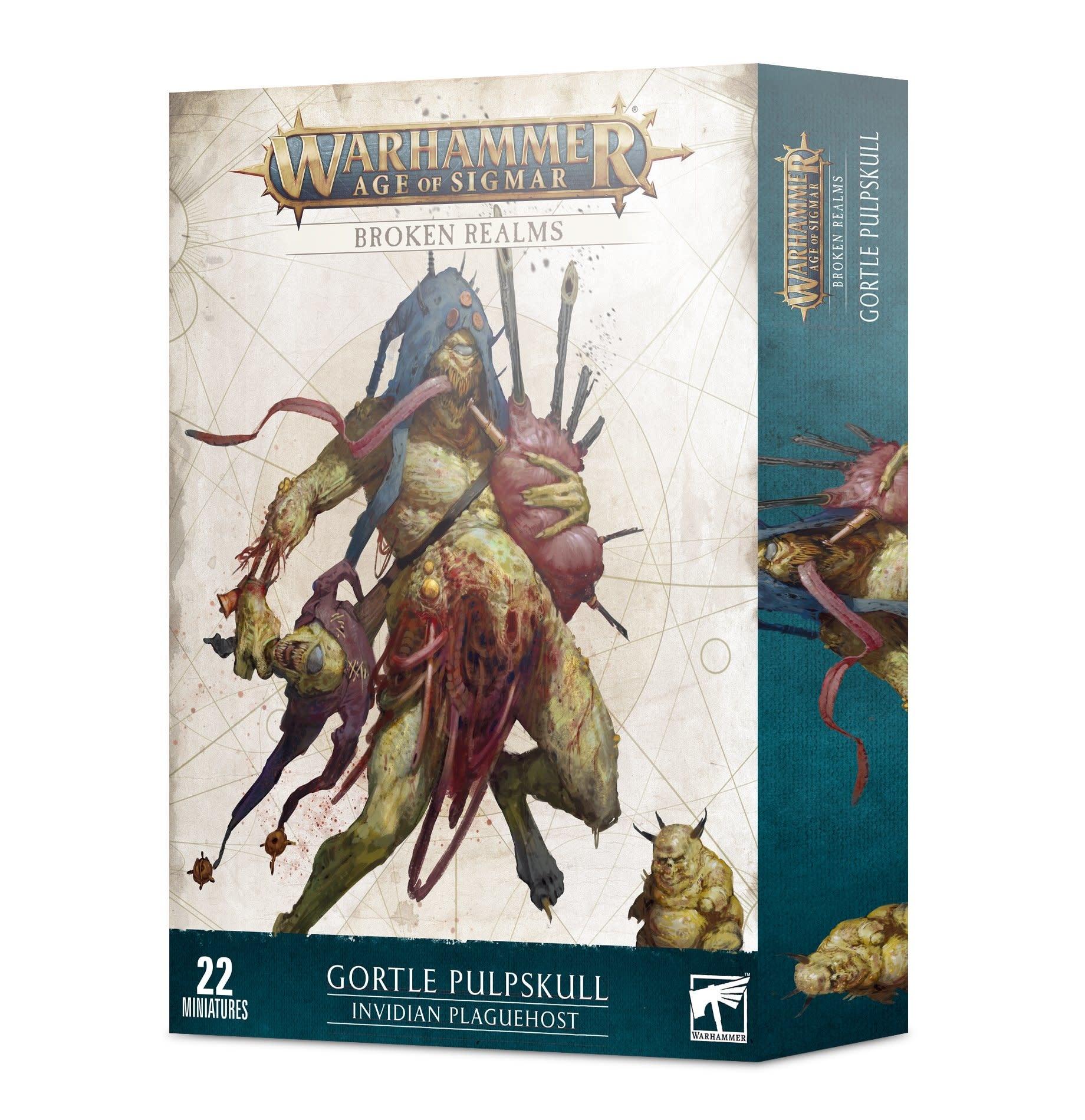 Games Workshop Broken Realms: Invidian Plaguehost - Warhammer