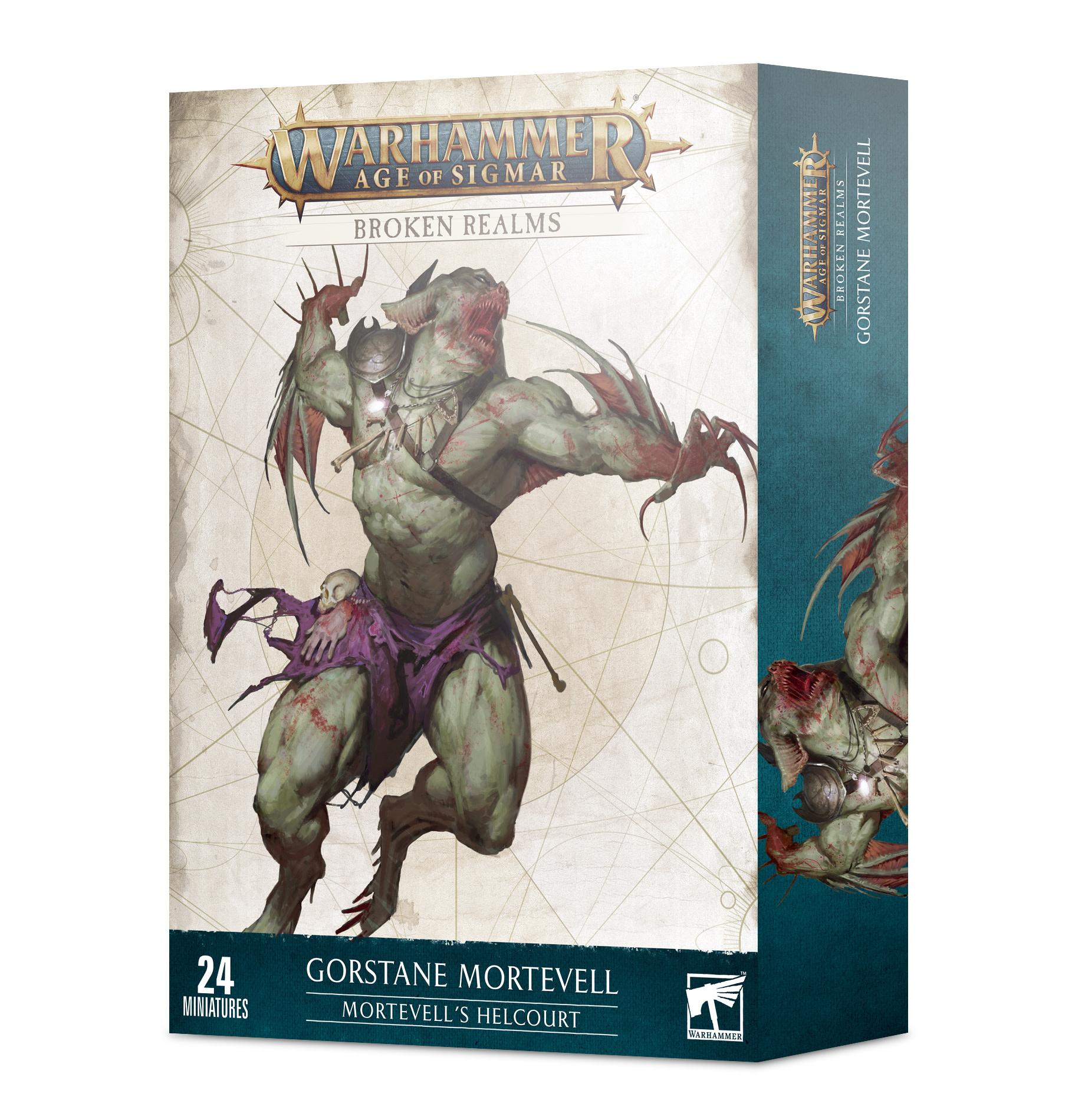 Games Workshop Broken Realms: Mortevell's Helcourt - Warhammer