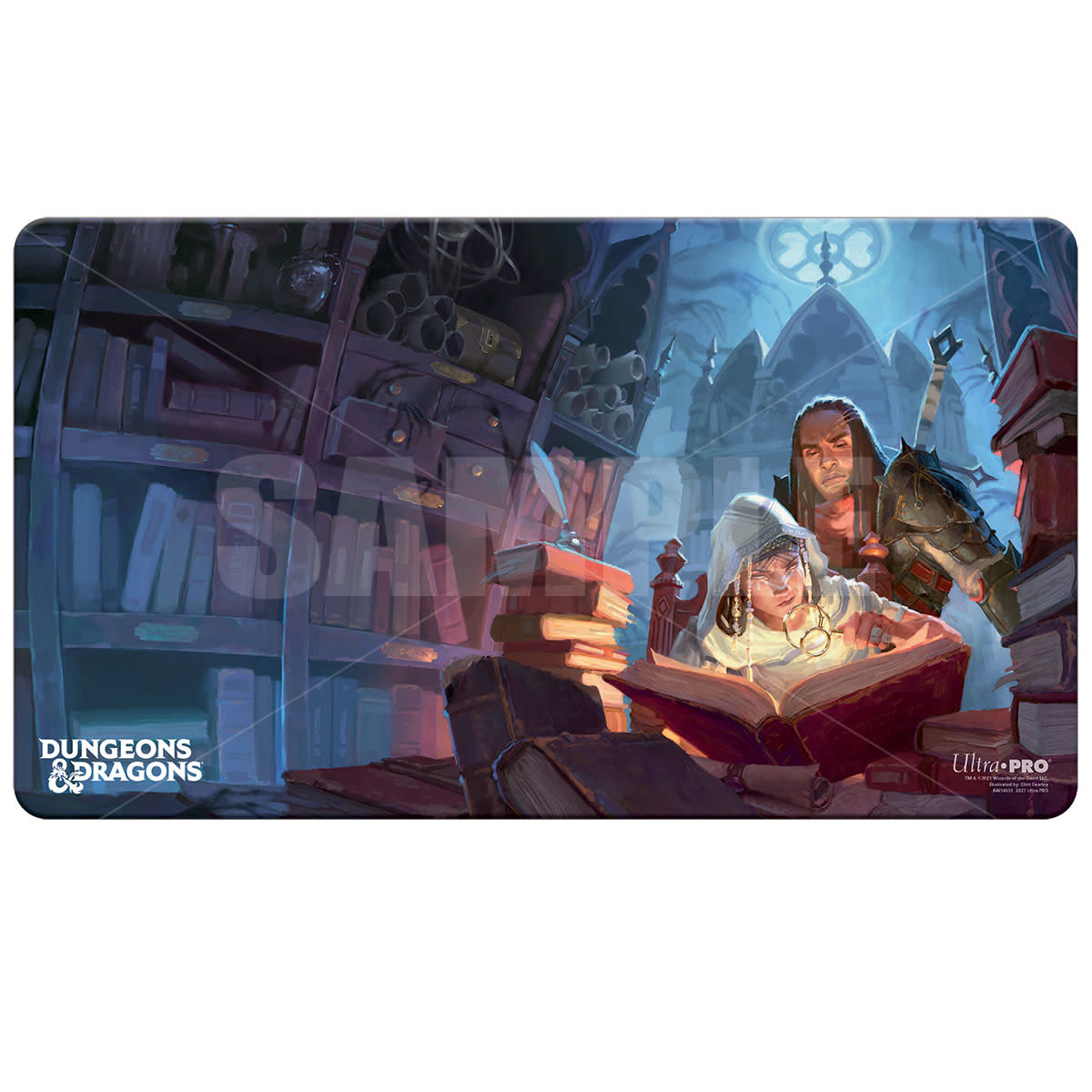 Ultra Pro Candlekeep Mysteries Playmat - UPRO D&D Cover Series