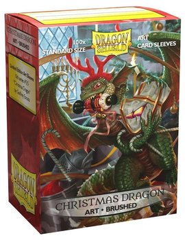 Dragon Shield Dragon Shield Brushed Art 100Ct: X-Mas Dragon