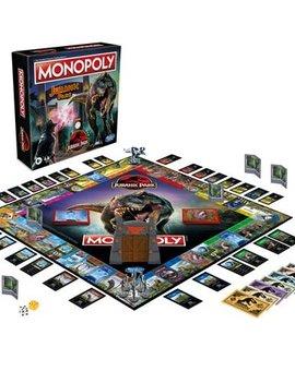 Hasbro Monopoly Jurassic Park Edition