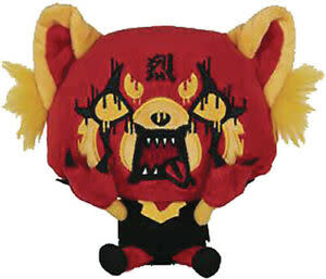 "Gund Aggretsuko Red Rage 7"" Plush - Sanrio"