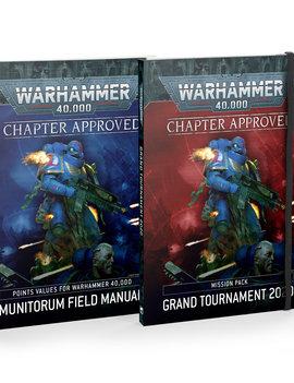 Games Workshop Warhammer 40K Chapter Approved 2021