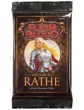 Welcome to Rathe Booster Pack (Unlimited Edition) - Flesh & Blood TCG