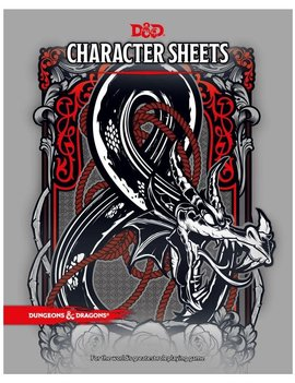 WizardsOfTheCoast D&D 5E: Character Sheets