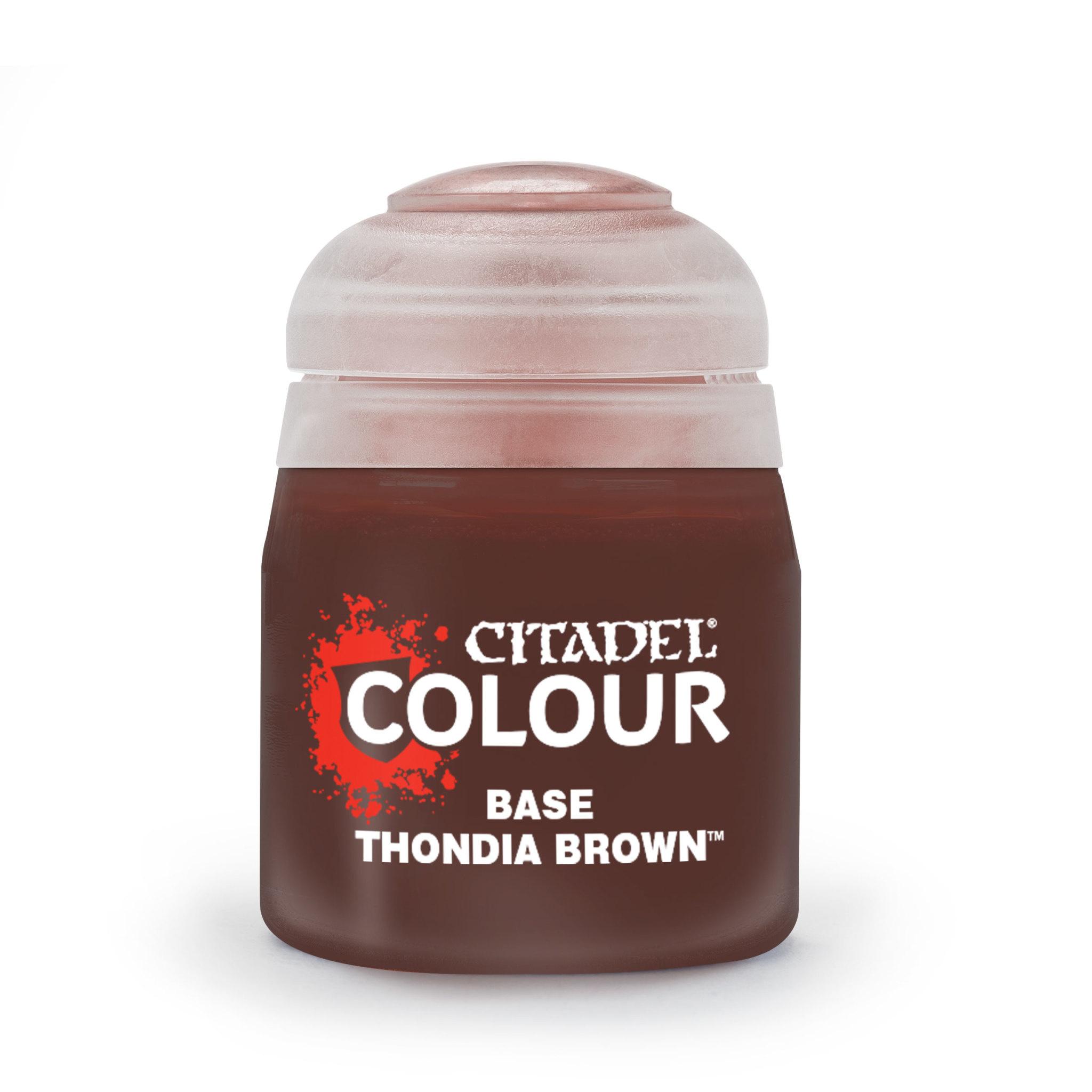 Citadel Paint Base:  Thondia Brown