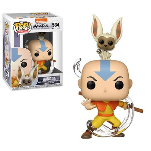 Funko POP! Aang with Momo #534 - Avatar: The Last Airbender