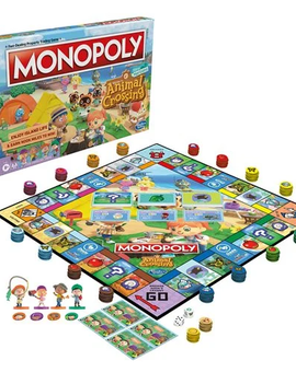USAOPOLY Monopoly Animal Crossing Edition