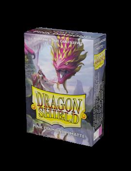 Dragon Shield Dragon Shield Mini Matte 60Ct: Pink Diamond