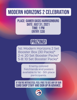 Modern Horizons 2 Win-a-Box Event Entry