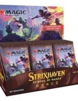 WizardsOfTheCoast Strixhaven: School of Mages Set Booster Box - MTG