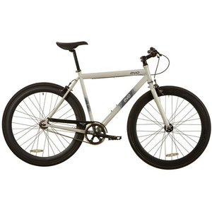 2019 EVO Acton Urban City Bicycle SS Gray Ghost S