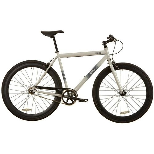 EVO 2019 EVO Acton Urban City Bicycle SS Gray Ghost S