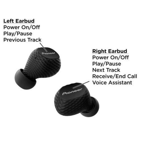 PIONEER PIONEER Écouteur Bluetooth C8 Noir