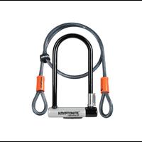 KRYPTONITE Cadenas STD & FLEX cable 4' clé