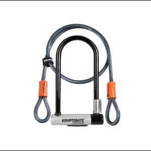 KRYPTONITE Cadenas Kryptolok STD & FLEX cable 4' clé