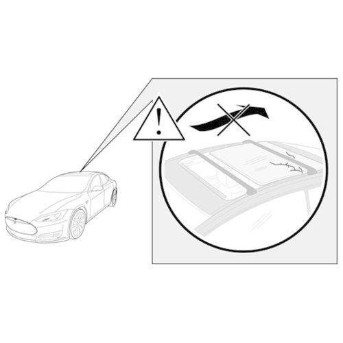 THULE THULE Support de toit Aeroblade Edge Flush Mount