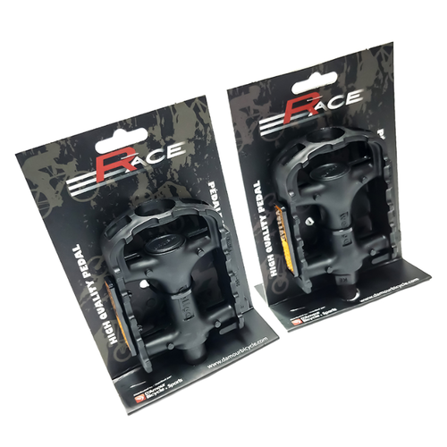RACE RACE Pédales plastiques MTB 9/16 LU-895