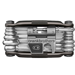CRANKBROTHERS Multi-Outil 19 Noir Midnight Edition