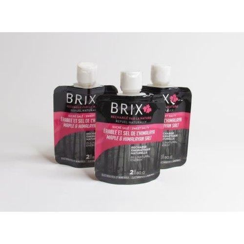 BRIX BRIX Erable et sel de l'himalaya 80G