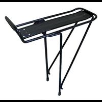 DAMCO Porte-bagages avec plateau noir