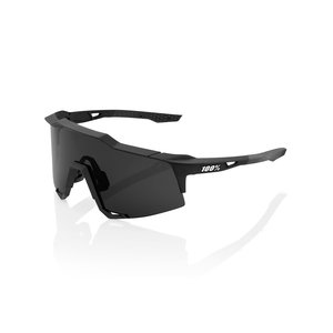 100% Lunettes Speedcraft - Soft Tact Black - Smoke Lens