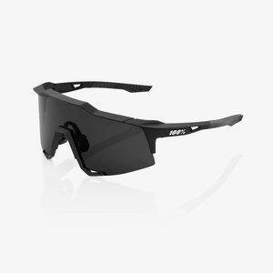 100% Lunettes Speedcraft XS Soft Tact noir/smoke lens