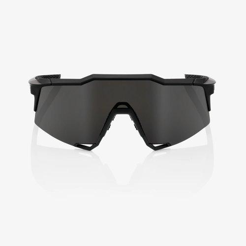 100% 100% Lunettes Speedcraft XS Soft Tact noir/smoke lens