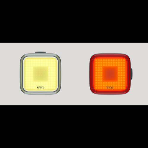 KNOG KNOG Lumières Carrées Blinder Kit avant/arriere