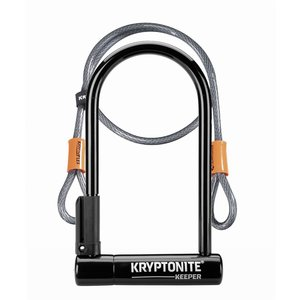 KRYPTONITE Cadenas Keeper 12 STD W/4' Cable