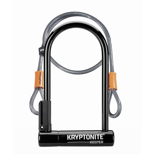 KRYPTONITE KRYPTONITE Cadenas Keeper 12 STD W/4' Cable