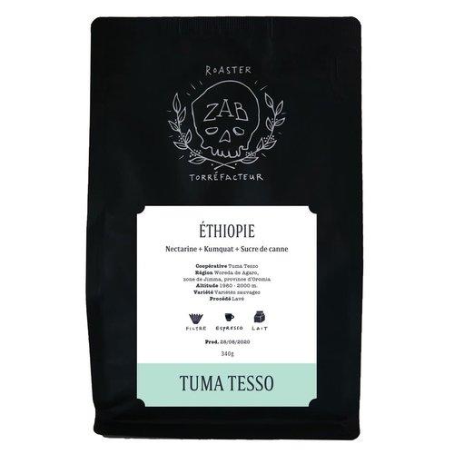 ZAB Café Ethiopie Tuma Tesso 340g