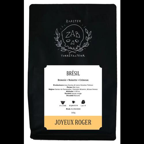ZAB ZAB Café Brézil Joyeux Roger 340g