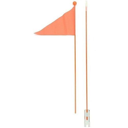 BABAC Drapeau 6' tige orange 2 morceaux