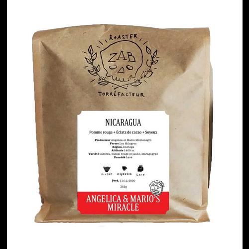 zab ZAB Café Nicaragua Angelica Mario's Miracle 340g