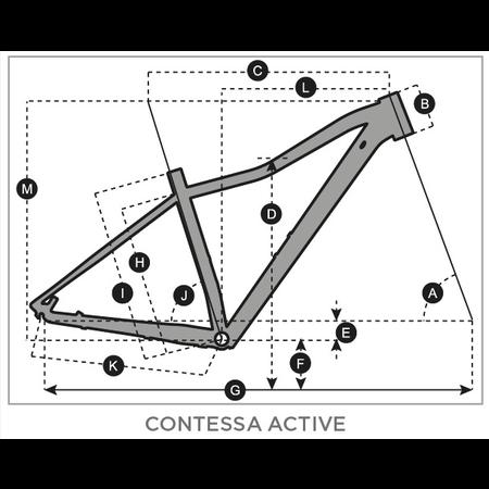 SCOTT 2021 SCOTT Contessa Active 60