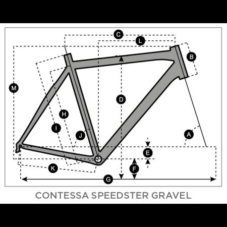 SCOTT 2021 SCOTT Contessa Speedster Gravel 25