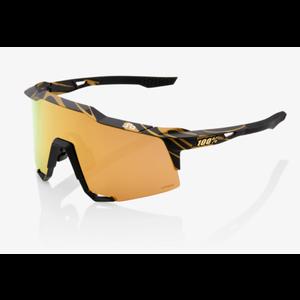 100% Lunettes S3 Peter Sagan LE Metallic Gold Flake HiPER Gold Mirror