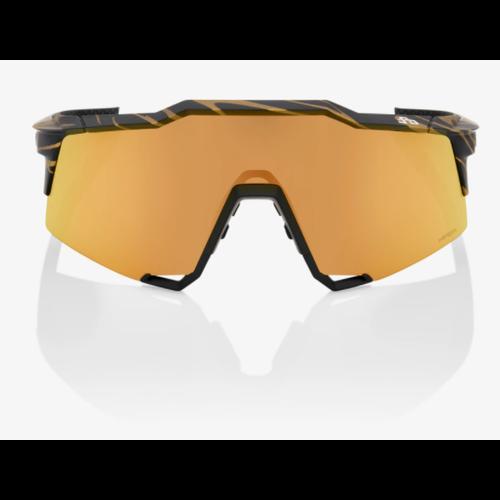 100% 100% Lunettes S3 Peter Sagan LE Metallic Gold Flake HiPER Gold Mirror