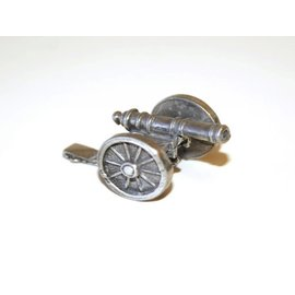 Pewter Cannon Figurine