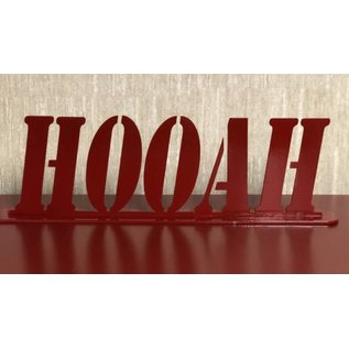 HOOAH Metal Art