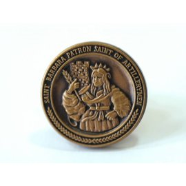 Ancient St. Barbara Lapel Pin