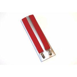 Saint Barbara Red Suspenders