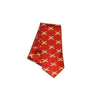 Crossed Cannon Tie