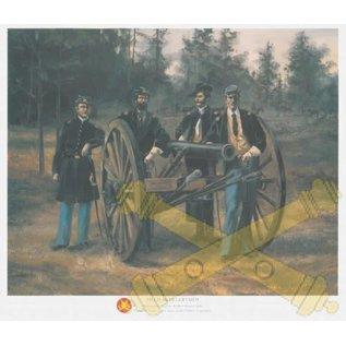 Field Artillerymen - 11x14 Print